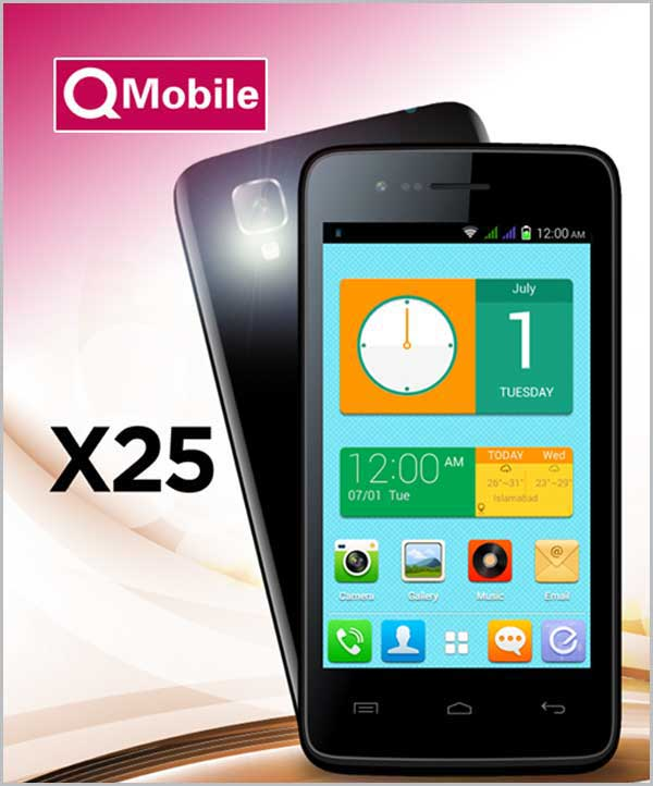 Q Mobile X25 Flash File Download