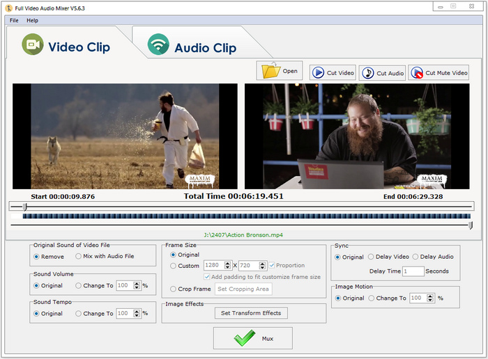 Download Free Full Video Audio Mixer 5.6.3 Crackd