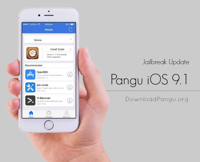 jailbreak ios 9.1, 9.2 Download Free