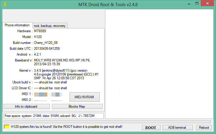 Download Free MTK Droid Tools For Android