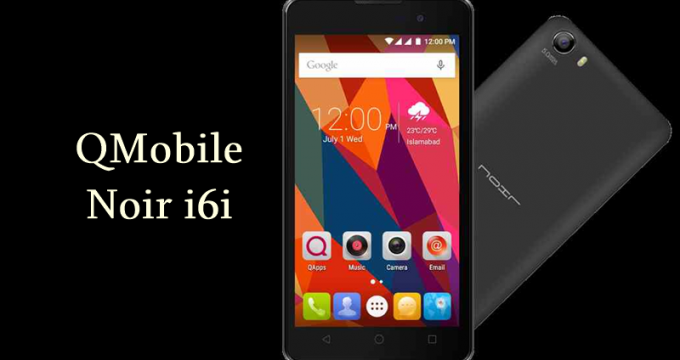 Qmobile i6i Flash File Frimware Download