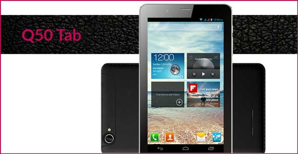 Qtab Q50 MTK 6582 Flash File Firmware Download