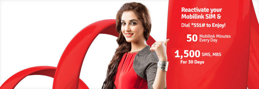 Mobilink Jazz SIM Lagao Offer May2016