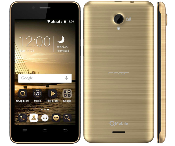 QMobile W35 Flash File Download