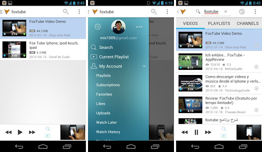Download FoxTube YouTube Player APK App Latest