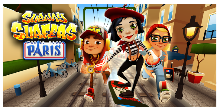 Download Subway Surfers Paris Game For Android Available