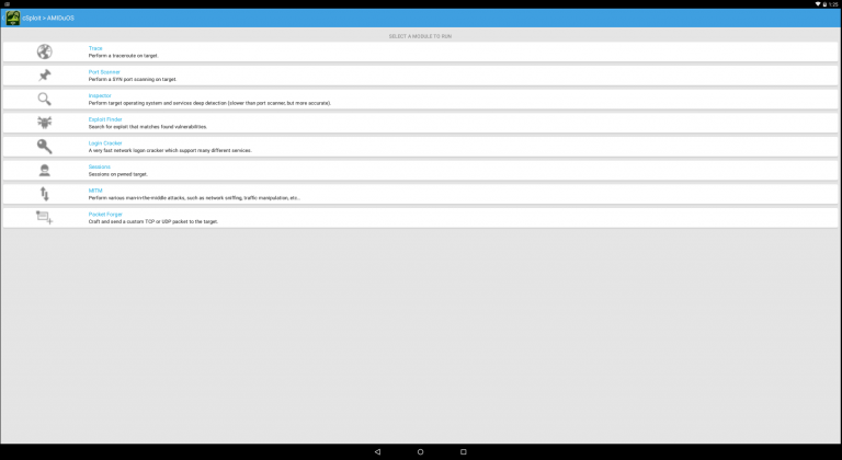 Download cSploit WiFi Exploit APK App for Android