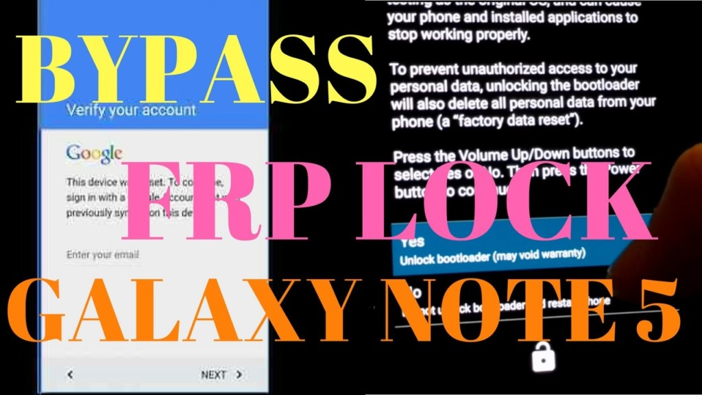 Note 5 Bypass Google Account FRP 100% Working Method