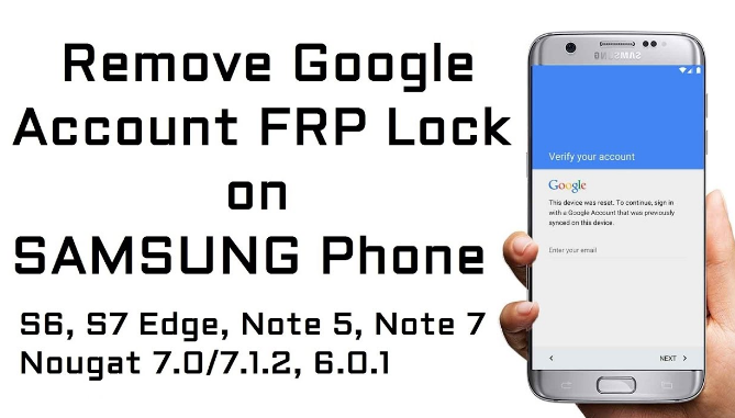 Bypass Google Account (FRP Bypass) Android 7.1 Samsung
