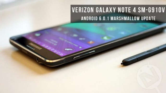 Download Install Security Marshmallow For Verizon Galaxy Note 4