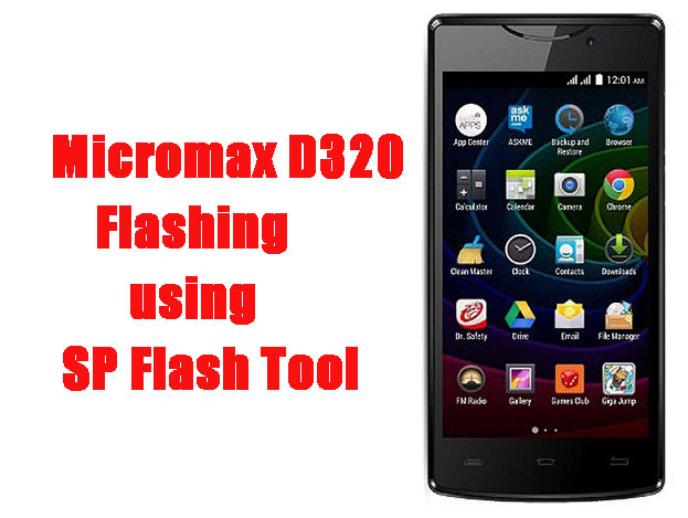 Micromax Bolt D320 Flash File