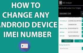 How To Change IMEI Number