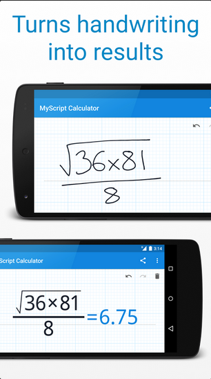 Download Free MyScript Calculator For Android