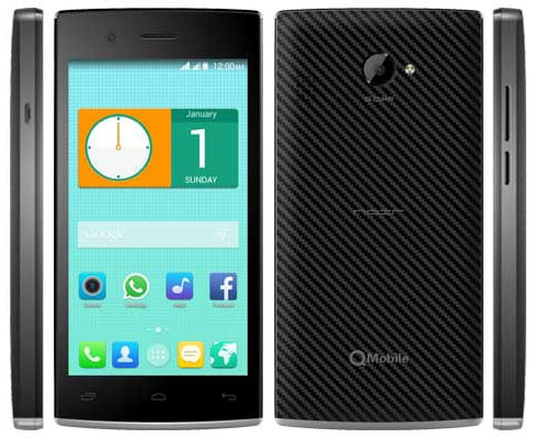 QMobile i4 Flash Frimware File Download