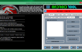 JURASSIC UniAndroid Tool v.5.0.3 Free Download