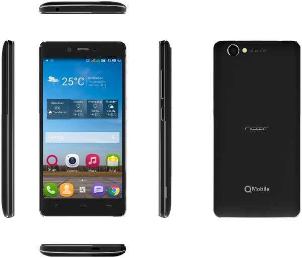 Qmobile Noir M300 Flash File Frimware Download