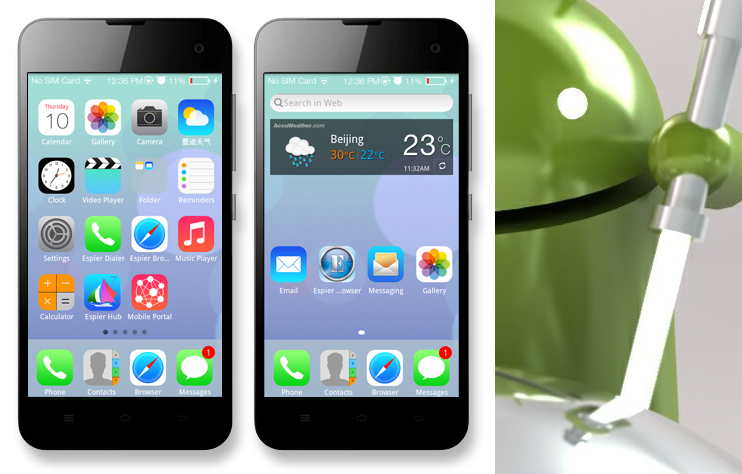 Download Espire Launcher 7 Pro APK For Android Available