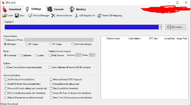 DFU Flash Tool Free Download Latest Version