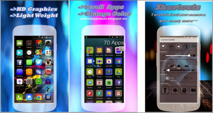 ilauncher 7 i5 prime HD 3.0 APK Free Download