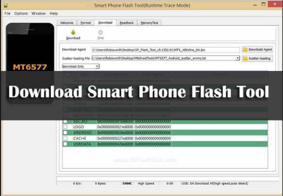 Download Smart Phone Flash Tool SP Flash Tool For Mobile