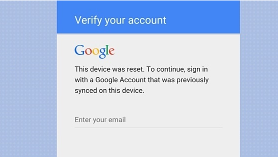 Bypass Factory Reset Protection on Samsung Devices