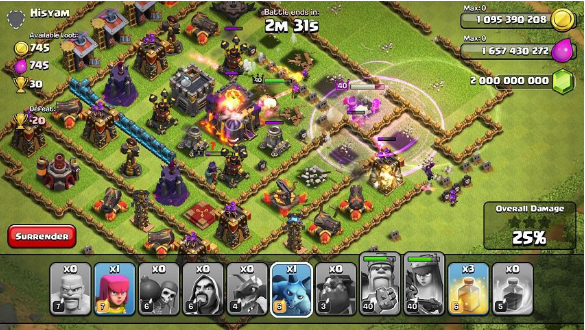 Host Editor Clash of Clans 8.551.24 Unlimited Mod Hack APK