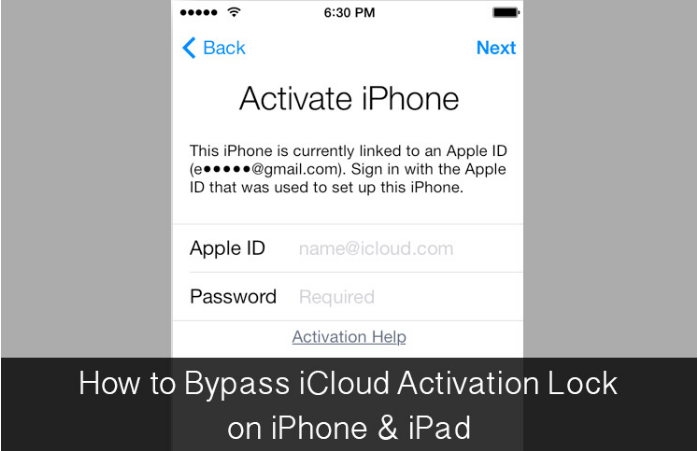 Bypass iCloud Activation Lock on iPhone