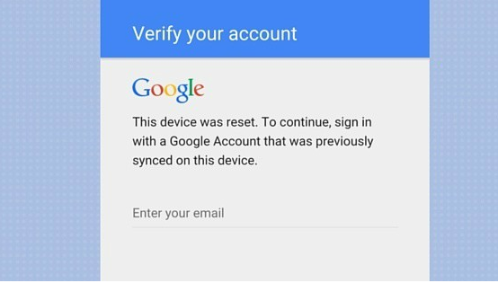 bypass Google Account