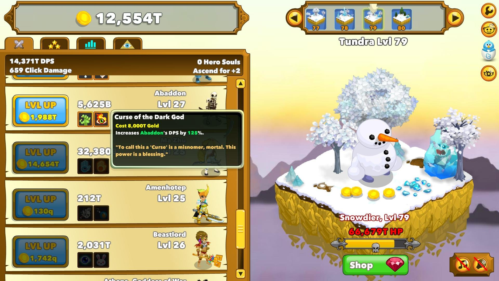 Clicker Heroes Game