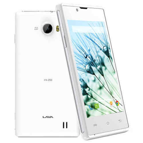 Lava Iris 250 Flash File