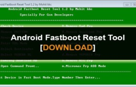 Android Fastboot FRP Reset Tool v1.2